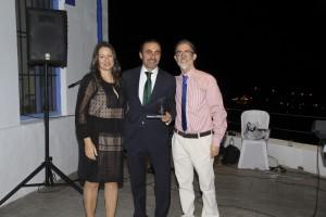 Sara Gili, Andrés Olivares y Jesus Cuevas