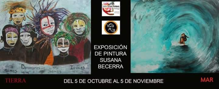 Exposición de pintura de Susana Becerra