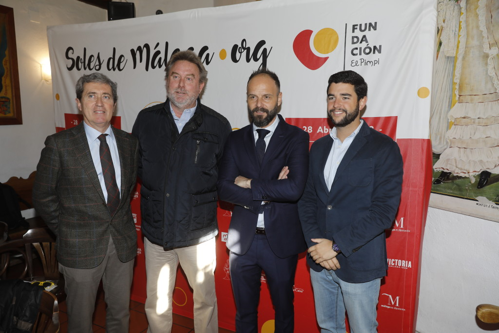 Esteban Bueno, Didier Bricout, Sergio Ragel y Pablo Gonzalo