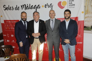 Sergio Ragel, Pepe Cobos, Eduardo Barrero y Pablo gonzalo