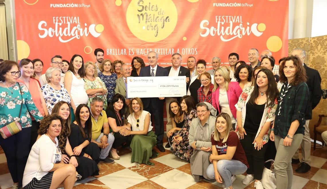 """El festival solidario """"Soles de Málaga"""" recauda más de  125.000"""
