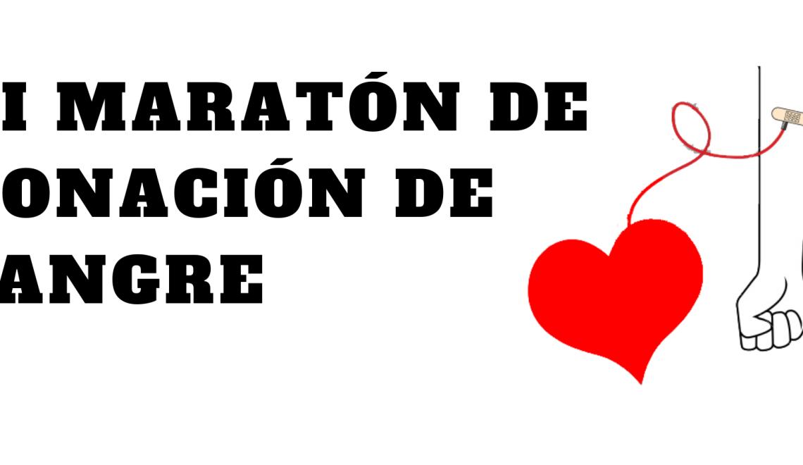 XI Maratón de donación de sangre
