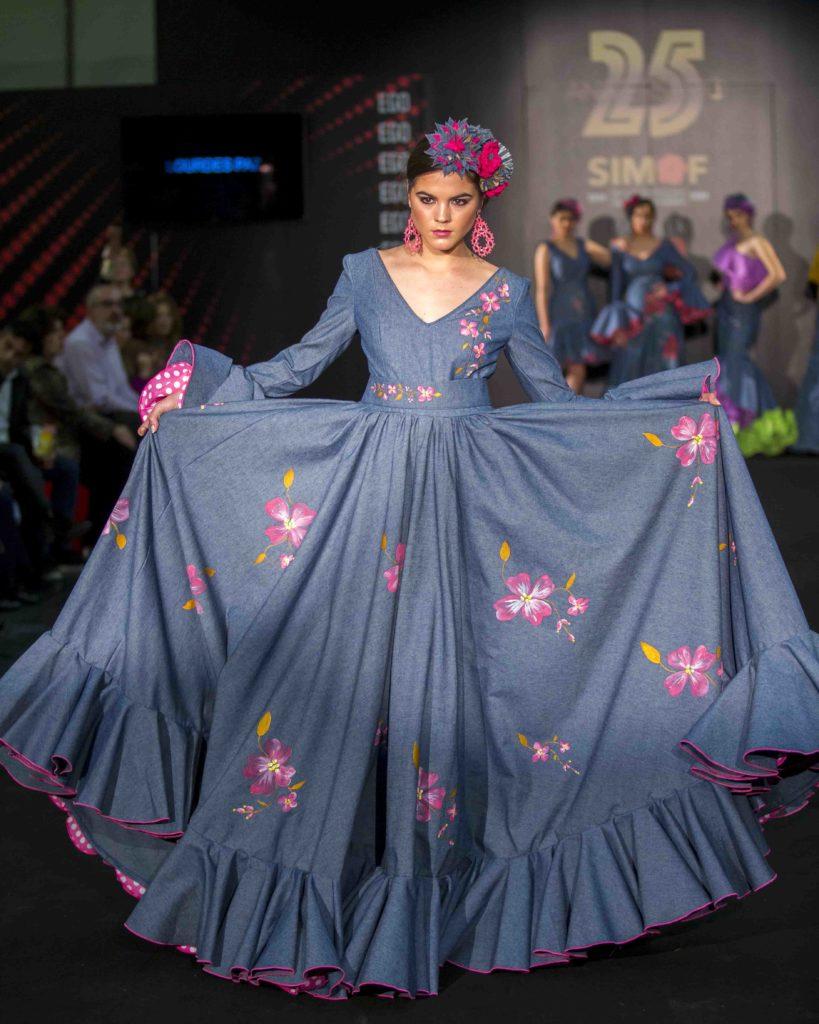 Lourdes Paz moda flamenca