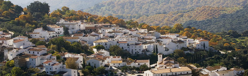 pueblos menos habitados de Málaga