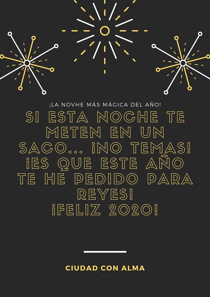 frases para felicitar el año 2020