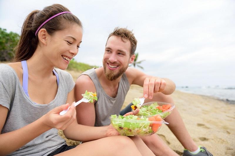 alimentación ligera y sana