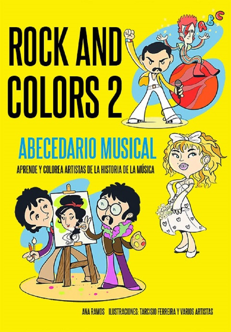 la colección de libros Rock and Colors