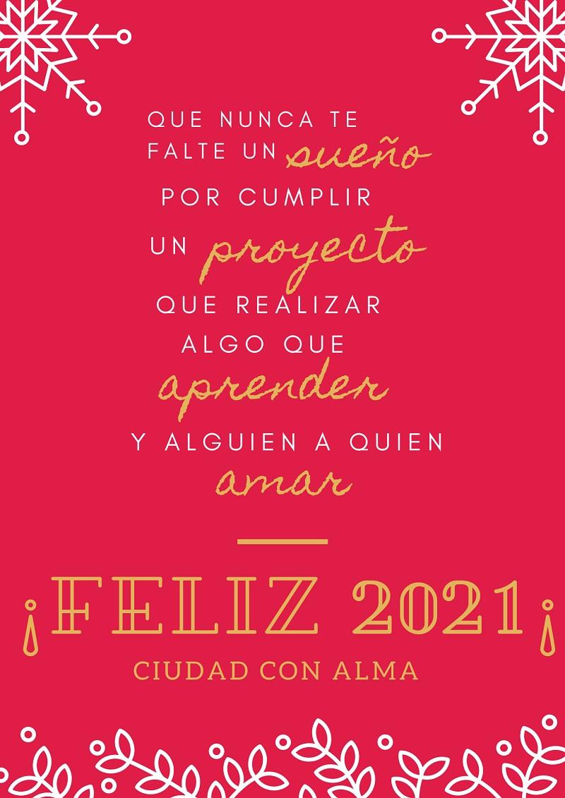 Frases para felicitar el año 2021