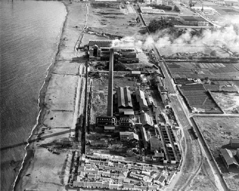 chimeneas industriales de Málaga