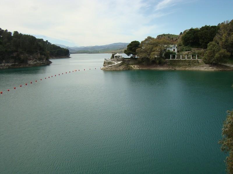 El pantano de El Chorro