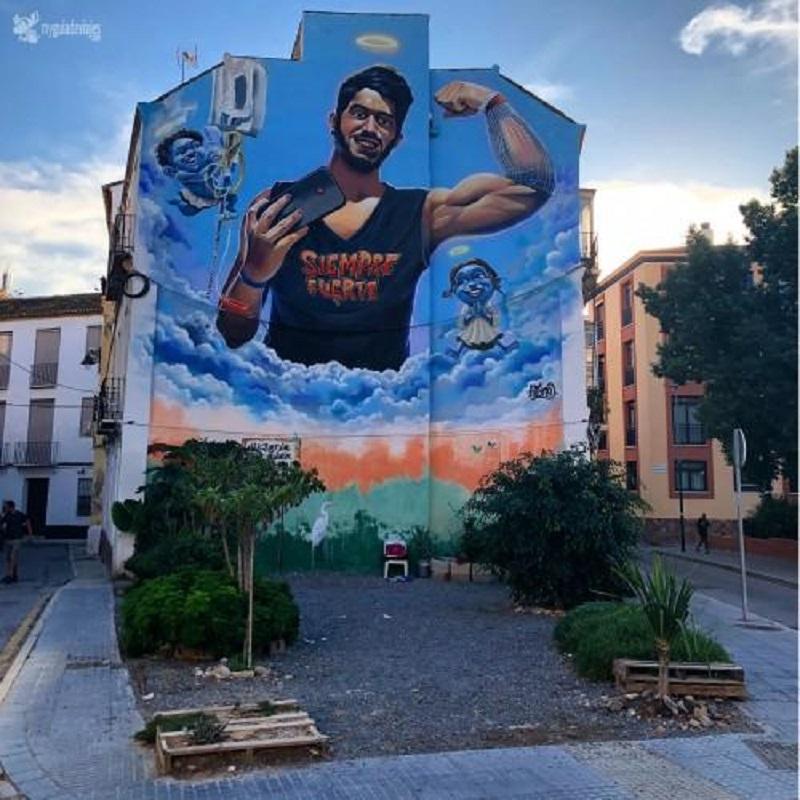 arte de las calles de Málaga